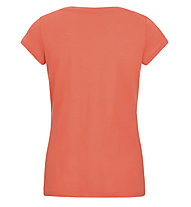 Super.Natural W Graphic Tee 140 Yoga - t-shirt - donna, Orange