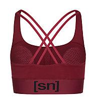 Super.Natural W Motion Top - Sport BH - Damen, Red