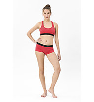 Super.Natural Semplice 260 (Cup B) - reggiseno sportivo - donna, Red