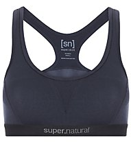 Super.Natural Semplice 260 (Cup B) - reggiseno sportivo - donna, Dark Blue