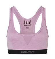 Super.Natural Semplice 260 (Cup B) - reggiseno sportivo - donna, Pink