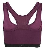 Super.Natural Semplice 260 (Cup B) - reggiseno sportivo - donna, Purple