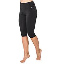 Super.Natural W Super 3/4 Tights - Trainingshose kurz - Damen, Black