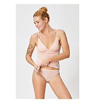 Super.Natural W Vivien Rib Top 165 - canotta intima - donna, Pink