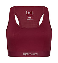 Super.Natural W Yoga Bustier - Sport BH, Red