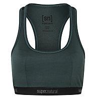 Super.Natural W Yoga Bustier - Sport BH, Green