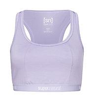 Super.Natural W Yoga Bustier - Sport BH, Purple
