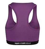 Super.Natural W Yoga Bustier - Sport BH, Violet