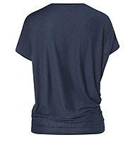 Super.Natural W Yoga Loose - T-Shirt - Damen, Dark Blue