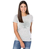 Super.Natural W Yoga Tree - T-shirt - donna, Grey