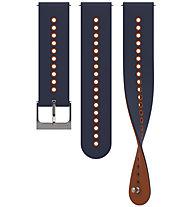 Suunto Urban 4 Silicone 22 mm - Ersatzarmband, Blue/Orange