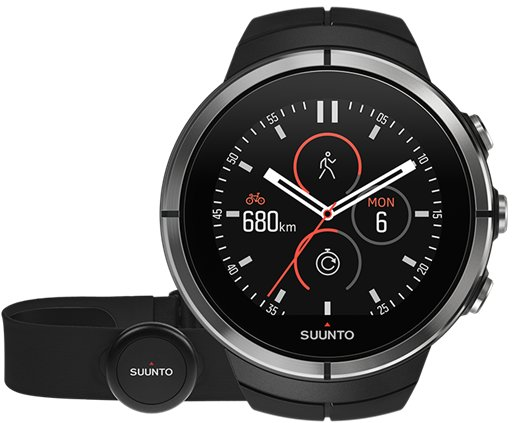 Suunto Spartan Ultra Black HR - GPS-Multisportuhr