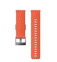Suunto Suunto 24mm Explore 1 Silicone Strap - cinturino orologio, Coral/Grey