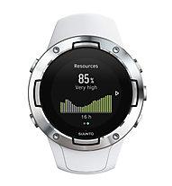 Suunto Suunto 5 - sportwatch GPS, White