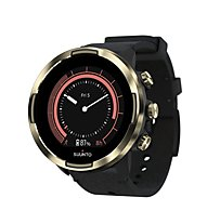 Suunto Suunto 9 Baro Leather - orologio multisport, Black/Gold