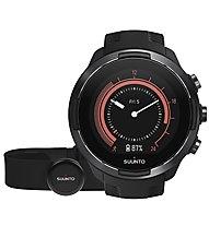 Suunto Suunto 9 G1 HR Baro - GPS Sportuhr + Herzfrequenzgurt, Black