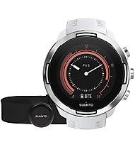Suunto Suunto 9 G1 HR Baro - GPS Sportuhr + Herzfrequenzgurt, White