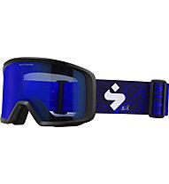 Sweet Protection Firewall Svindal - maschera sci, Blue
