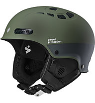 Sweet Protection Igniter II - casco freeride, Olive Green