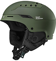 Sweet Protection Switcher - casco sci, Olive Green