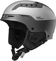 Sweet Protection Switcher - casco sci, Grey/Metal