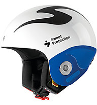 Sweet Protection Volata - casco sci alpino, White/Blue