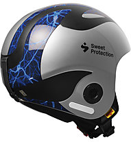 Sweet Protection Volata Mips Svindal - casco sci alpino, Blue/Silver