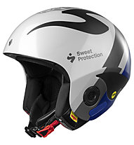 Sweet Protection Volata Mips TE - casco sci alpino, White/Grey/Blue
