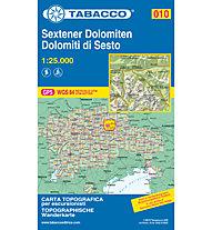Tabacco Carta N.010 Dolomiti di Sesto - 1:25.000, 1:25.000