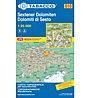 Tabacco Karte N. 010 Sextener Dolomiten - 1:25.000, 1:25.000