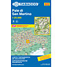 Tabacco Karte N.022 Pale di San Martino - 1:25.000, 1:25.000