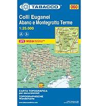 Tabacco Carta N.060 Colli Euganei - Abano e Montegrotto Terme - 1:25.000, 1: 25.000
