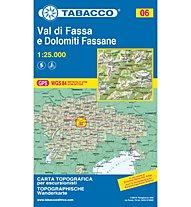 Tabacco Karte N.06 Val di Fassa e Dolomiti Fassane - 1:25.000, 1:25.000