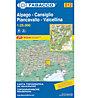 Tabacco Carta N. 012: Alpago - Cansiglio - Piancavallo - Valcellina (1:25.000), 1:25.000