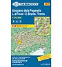 Tabacco Tabacco Karte 067: Altopiano della Paganella - L.di Tovel - C.Brenta - Trento, 1:25.000