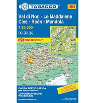 Tabacco Tabacco Karte 064: Val di Non - Le Maddalene - Cles - Roèn - Mendola, 1:25.000