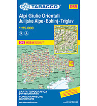 Tabacco Carta N.065 Alpi Giulie Orientali Bohinj - Triglav - 1:25.000, 1:25.000