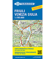 Tabacco Karte Friuli Venezia Giulia - 1:150.000, 1:150.000