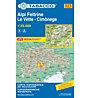 Tabacco Carta N° 023 Alpi Feltrine/Le Vètte/Cimònega (1:25.000), 1:25.000