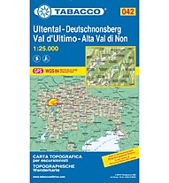 Tabacco Carta N.042 Ultental/Val d'Ultimo - 1:25.000, 1:25.000
