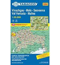 Tabacco Karte N° 044 Vinschgau/Val Venosta-Sesvenna (1:25.000), 1:25.000