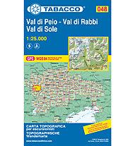 Tabacco Carta N° 048 Val di Peio/Val di Rabbi/Val di Sole (1:25.000), 1:25.000
