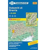 Tabacco Carta N.053 Dolomiti di Brenta - 1:25.000, 1:25.000