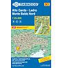 Tabacco Carta N° 061 Alto Garda-Ledro Monte Baldo Nord (1:25.000), 1:25.000