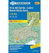 Tabacco Karte N° 061 Alto Garda-Ledro Monte Baldo Nord (1:25.000), 1:25.000