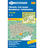 Tabacco Karte N.070: Il Montello - Colli Asolani - Montebelluna - Valdobbiadene 1:25.000, 1:25.000
