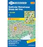 Tabacco Karte N° 49 Südtiroler Weinstrasse/Strada del vino (1:25.000), 1:25.000