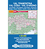 Tabacco N° 028 Val Tramontina-Val Cosa-Val D'Arzino (1:25.000), 1:25.000