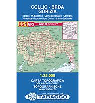 Tabacco N° 054 Collio, Brda, Gorizia (1:25.000), 1:25.000