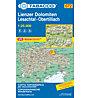 Tabacco Karte N.072 Lienzer Dolomiten Lesachtal - Obertilliach - 1:25.000, 1:25.000